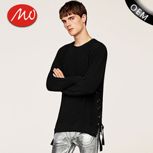 Manufacturers mens thick wool plain pullover oem service wholesale sweater with high quality
