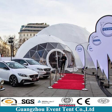 Hot Sale Customized Tent For Car Wash Geodesic Dome Car ShowTent