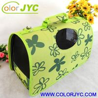 J416 luxury fabric pet carriers