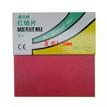 Pink Red Dental Electric Waxing base plate wax