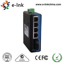 SFP/SC/ST/FC connector 4-port industrial Ethernet switches