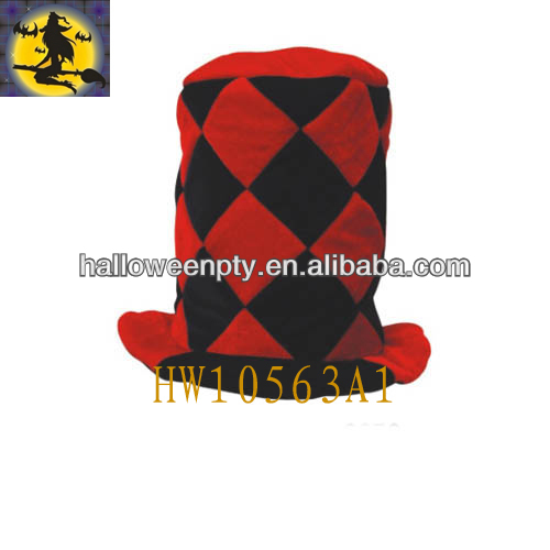 2013 Promotional Velvet Carnival Red And Black Top Hat