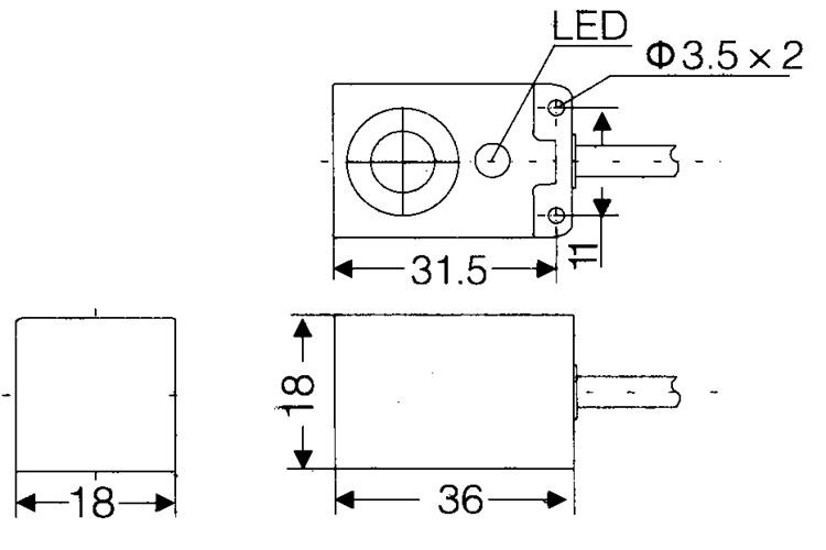 inductive proximity switch fs17