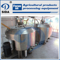 Small scale potato starch making equipment tapioca starch processing machinery