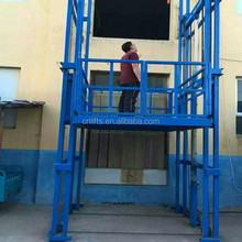 4.5m hydraulic freight lift vertical platform cargo elevator for warehouse