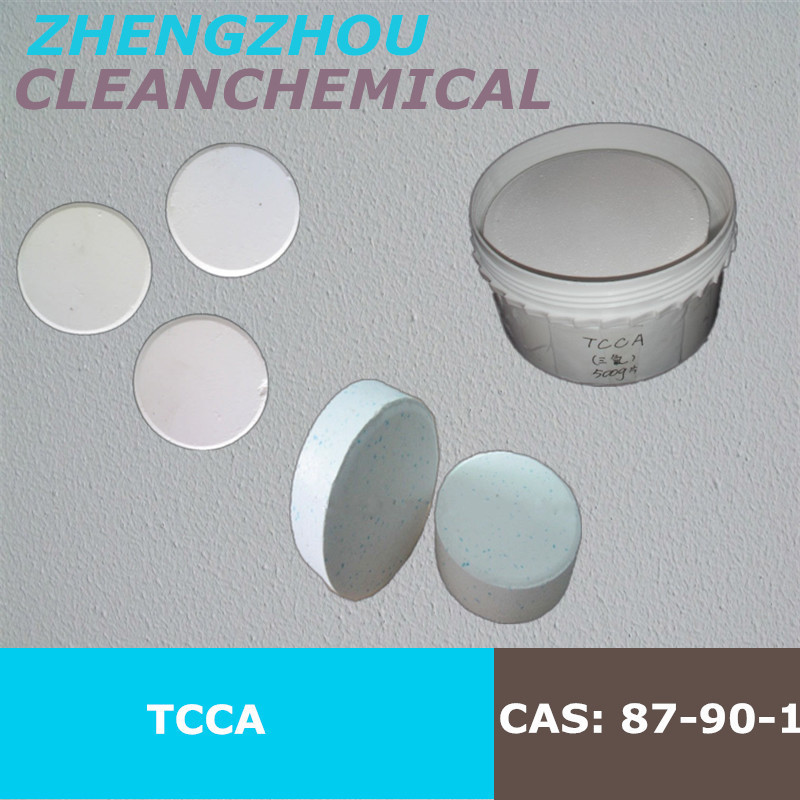 Clean Chemical Swimming pool chemical tcca aluminium sulfate multitabs 200 g table with factory price
