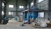 Desorption electrowinning plant for gold cyanide