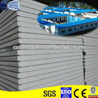 Modular House PVC Zinc Coated Steel EPS Insulated Interior Wall Panel