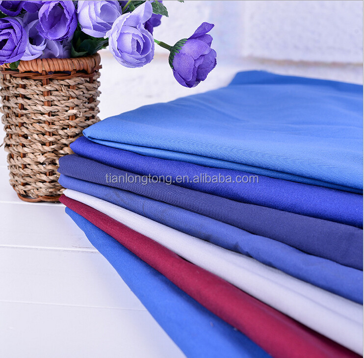 cotton polyester lycra fabric/80 polyester 20 cotton fabric/cotton polyester t shirts
