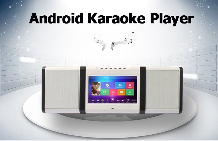 Hard drive Video karaoke machine with songs