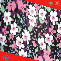 Custom Printed Cotton Fabric Fashion Shaoxing 100 Cotton Floral Poplin Printed Fabric