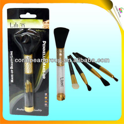 5pcs Wholesale Makeup Brushes in Tube