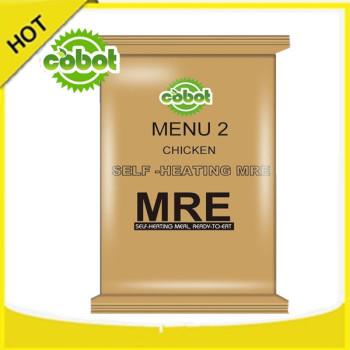 instant foods group self heating MRE AMRERICAN ARMY