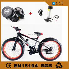 high speed snow bike Front suspension electrical vehicle
