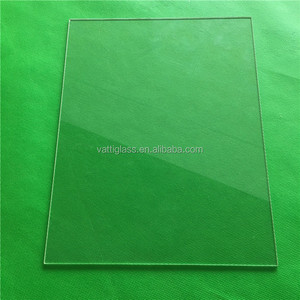 Borosilicate Square tempered glass sheet for 3D printer,flat borosilicate glass sheet ,Clear customized borosilicate glass sheet