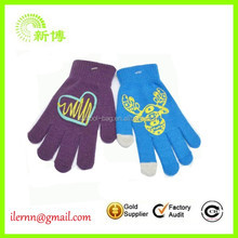 Promotion cheap Hot stamping acrylic magic glove