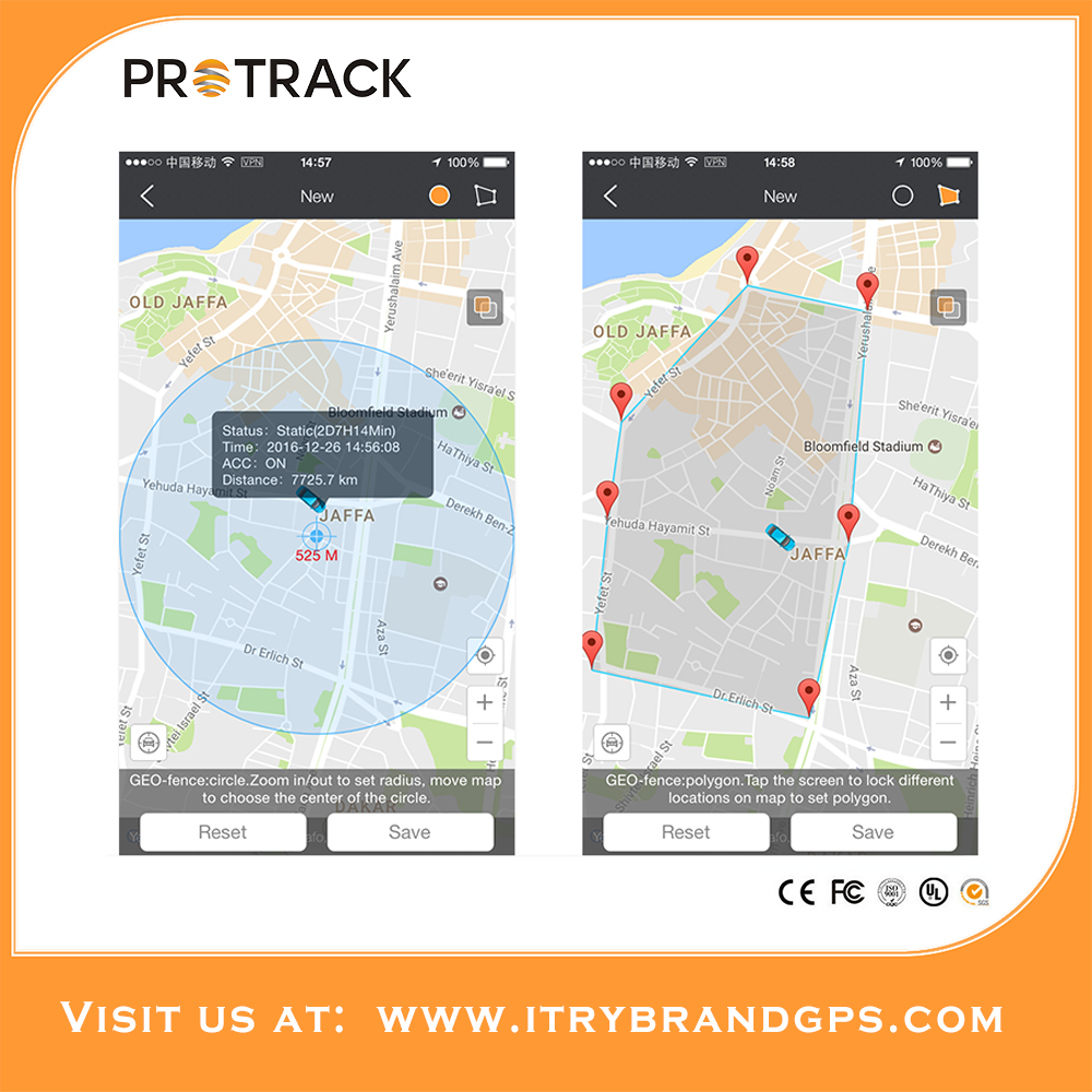Protrack cheap lience fee platform for global positioning tracker support many GPS devices with apps working on 2G/3G/4G mobile