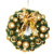 Plastic christmas ball garland christmas decoration christmas ball wreath