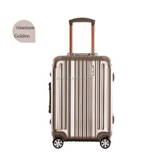 21 Inch Black Red Silver Multi Color Aluminum Luggage