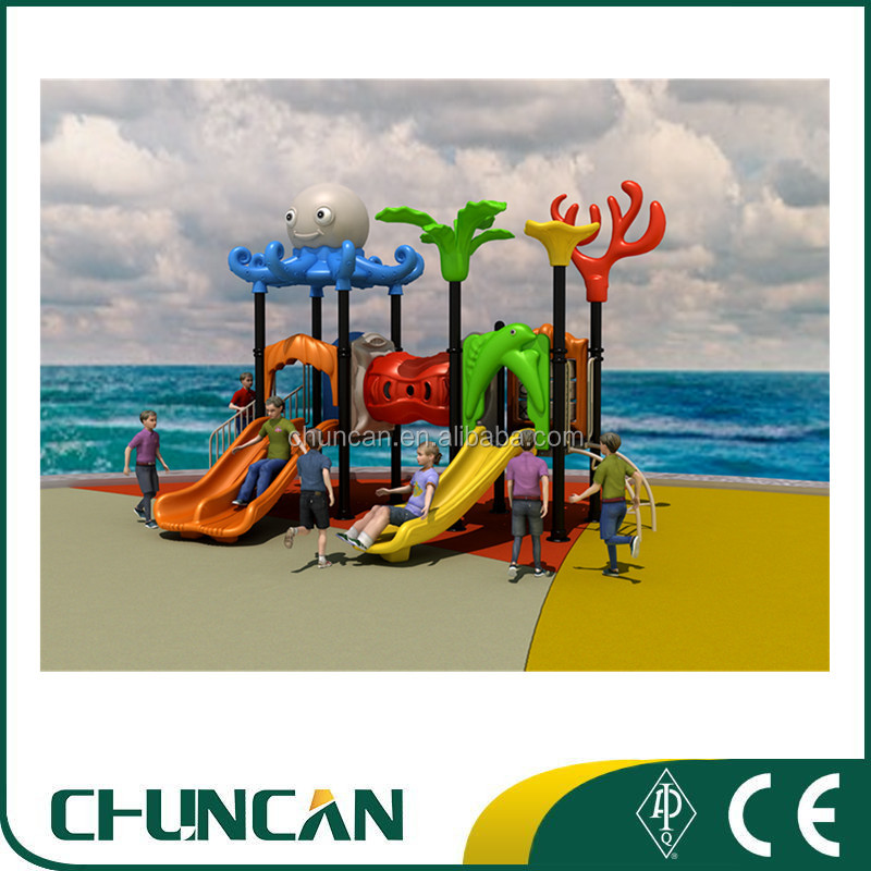2017 High quality children outdoor playground kids play equipment