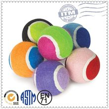 Factory Directly Custom Plush Pet Products eco friendly tennis ball