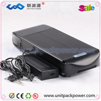 New arrive flat style lifepo4 battery 36v 8ah li-ion battery pack for e bike