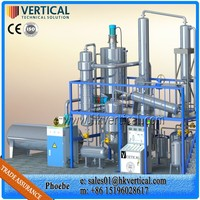 VTS-DP Vertical used engine oil transformer oil purifier machine