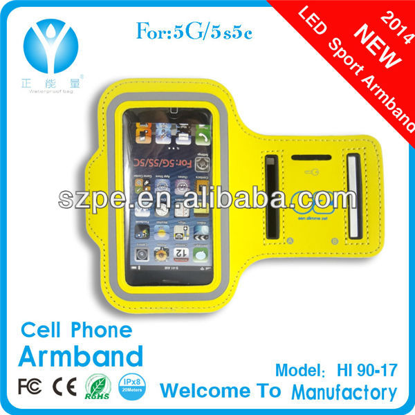 2014 new neoprene Sport Armband for china galaxy note cellphone
