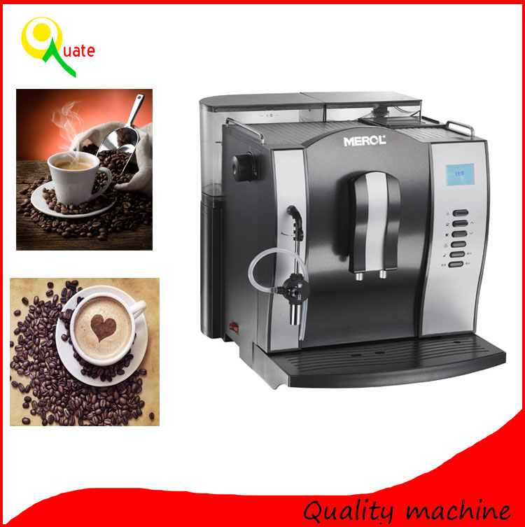 Table Top Bean To Cup Fresh Coffee Machine Fully Automatic For Hotel Restaurant Cafe Office ...