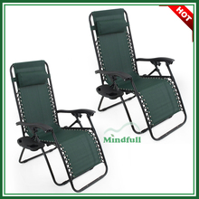 Seat Adjustable Relax Chair Lounge Chair Folding Reclining Chair With Table