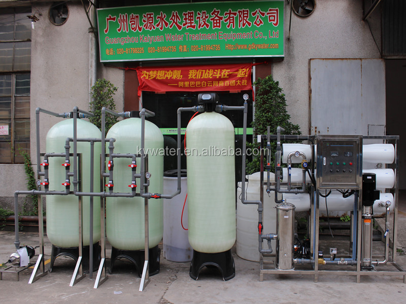 Factory direct sale 3000LPH Boiler Water Softener RO Water Filters Reverse Osmosis Treatment