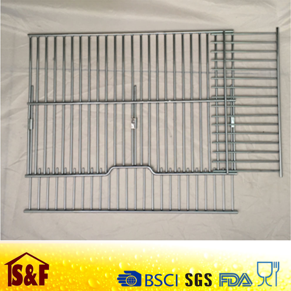 bbq stainless steel wire mesh grid rack