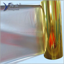 12 micron gold metalized PET film 1500mm
