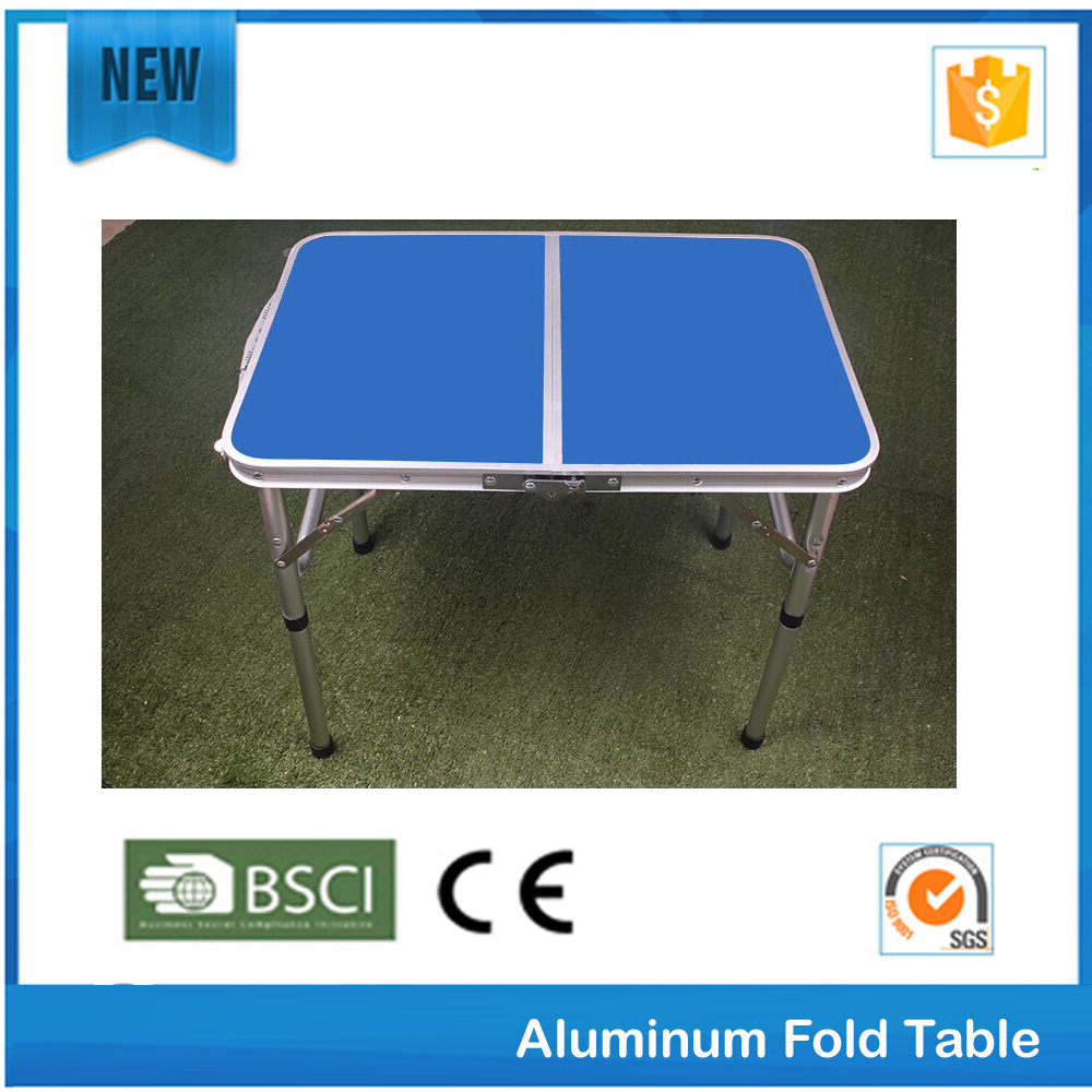 camping aluminum folding table with 4 chairs for outdoor and garden
