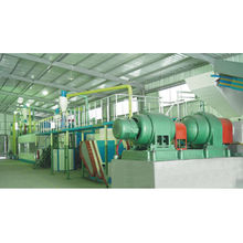 Used Tire Recycling Machine, Rubber Shredder Plant