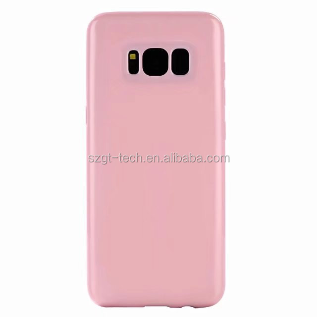 Full compatible wholesale candy colors tpu mobile phone case for samsung galaxy S8