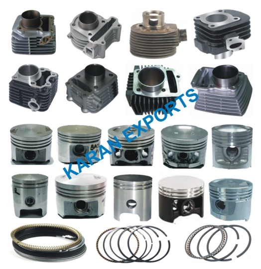 piston cylinder kit bajaj kawasaki kb 125 55mm