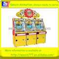 2018 Christmas day popular game-Crazy Farm coin pusher slot game machine