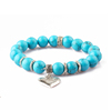 New Designs Blue Turquoise Gemstone Bead