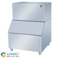 Commercial used flake ice maker machine heavy duty