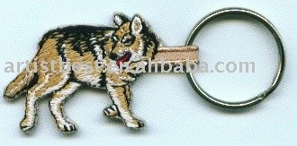 Embroidered Patch Embroidery Patch Key chain Key chain Fashion Key