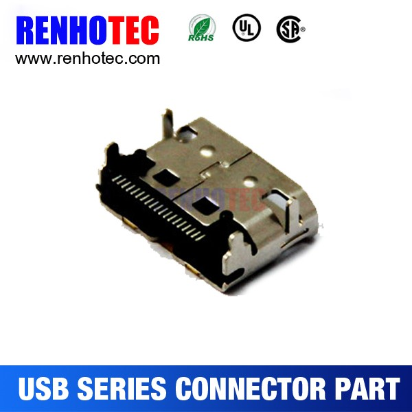 19PIN 29 Pin female Smd SMT HDMI header connector