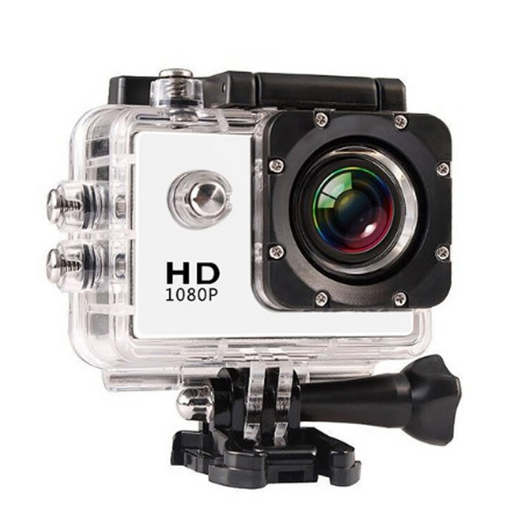 30m underwater camera with 170 degrees Wide Angle and Go pro waterproof digital camera with <strong>WiFi</strong>