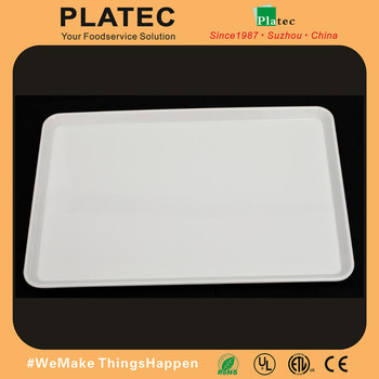 2016 New Melamine Square Serving Plate