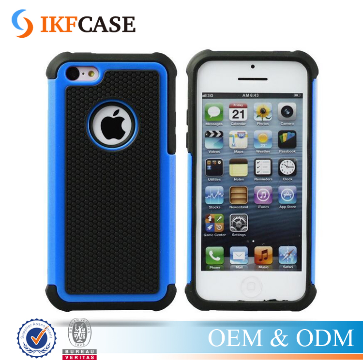 Drop Resistance Hybrid Armor Hard Case For iPhone 5 5S 5G Shock Absorbing Silicone Case for iPhone SE