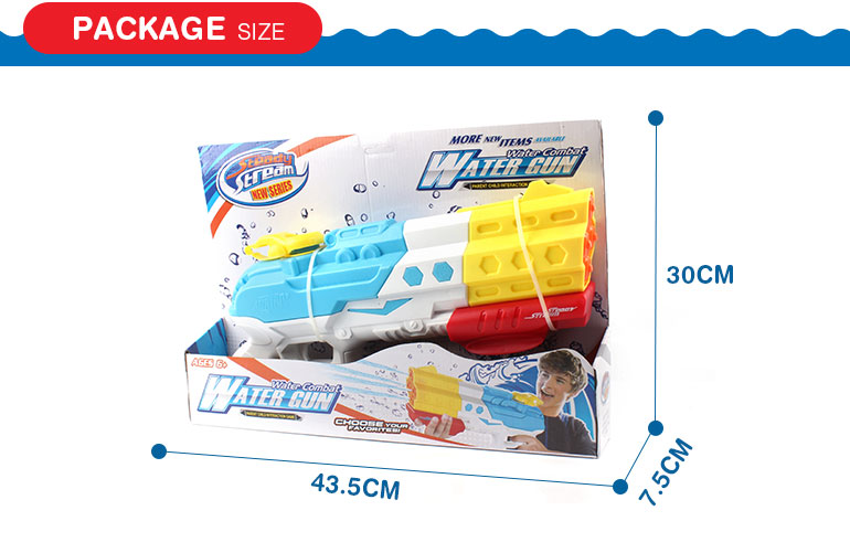 Kids favorite summer outdoor palying plastic realistic water gun with competitive price