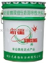 cold solvent road marking paint