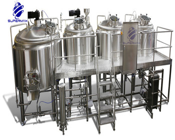 10 bbl Brewhouse - steam, direct fire or electric heated beer brewing equipment 1000 litre micro brewery equipment