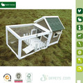 Cheap Small rabbit house with big run from China direct supplier