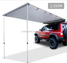 2.5m X 3m Car SIDE AWNING Roof Top Tent Camper Trailer 4WD 4X4 SUV Camping Shade